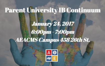 IB Continuum Parent University