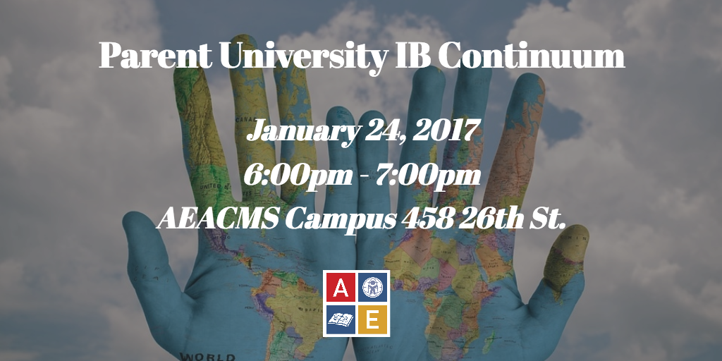 IB Continuum Parent University